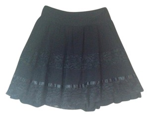 Joe Benbasset Mini Skirt Black