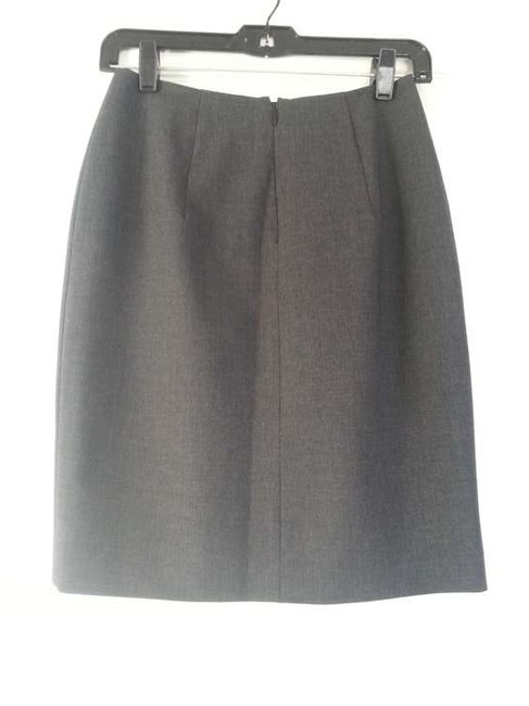 Georgiou Studio Tailored Basic Skirt dark gray