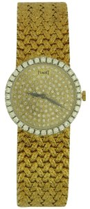 Piaget Piaget Lady's Yellow Gold and Diamond Bracelet Watch