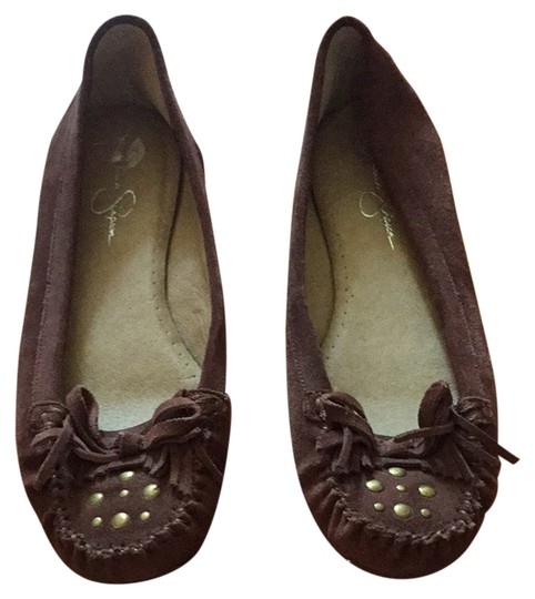 Jessica Simpson Brown Flats