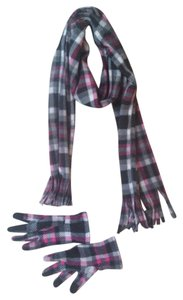 Other Fleece Scarf with Matching Texting Gloves