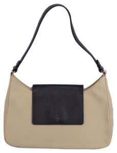 Ann Taylor Neutral Classic Shoulder Bag