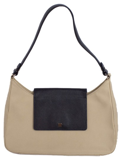 Preload https://item4.tradesy.com/images/ann-taylor-neutral-classic-shoulder-bag-cream-with-black-accents-3762253-0-0.jpg?width=440&height=440