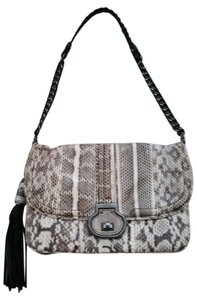 Rafe Snakeskin Shoulder Bag