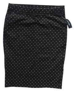 Old Navy Polka Dot Mini Skirt Black and White