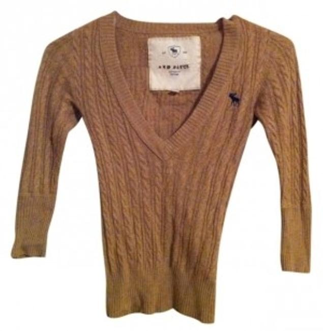 Preload https://img-static.tradesy.com/item/37626/abercrombie-and-fitch-tan-wool-knitted-sweaterpullover-size-2-xs-0-0-650-650.jpg