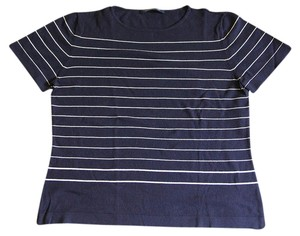 Windsmore Tshirt Shirt Nauticle Top black and while