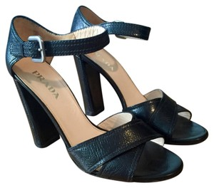 Prada Heels Summer Opentoe Black Sandals