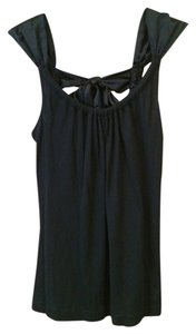 The Limited Cami Satin Tie Top Black