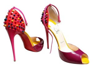 Christian Louboutin #lobuoutin #colorful #designer #heels #investment Multi Pumps