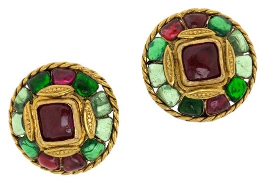 Chanel Early Chanel Vintage Gripoix Earrings