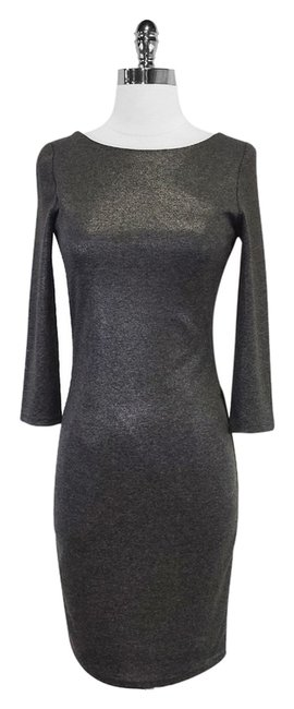 Preload https://item4.tradesy.com/images/alice-olivia-gray-metallic-mesh-back-mid-length-night-out-dress-size-4-s-3763993-0-0.jpg?width=400&height=650