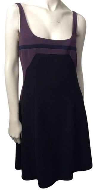 Narciso Rodriguez short dress Purple, black, navy on Tradesy