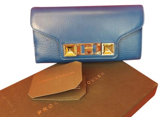 Preload https://img-static.tradesy.com/item/3764602/proenza-schouler-blue-texture-leather-ps11-continental-clutch-wallet-0-0-540-540.jpg