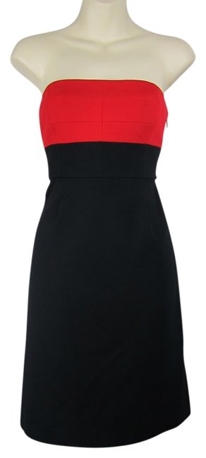 Preload https://item4.tradesy.com/images/theory-strapless-black-stretch-dress-black-red-3764608-0-0.jpg?width=400&height=650