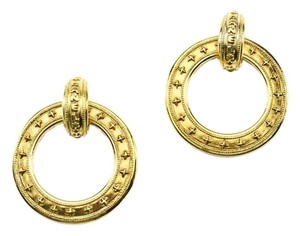 Chanel Chanel Vintage Hoop Earrings