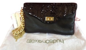 Alexis Hudson Clutch Purse BLACK Clutch