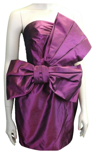 Preload https://item4.tradesy.com/images/marchesa-notte-purple-wine-grape-silk-taffeta-draped-bow-embellished-above-knee-cocktail-dress-size--3766243-0-0.jpg?width=400&height=650
