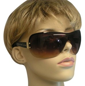 17639b2b68 Marc by Marc Jacobs MMJ011 S BROWN FRAMELESS SUB 94 WRAP SUNGLASSES