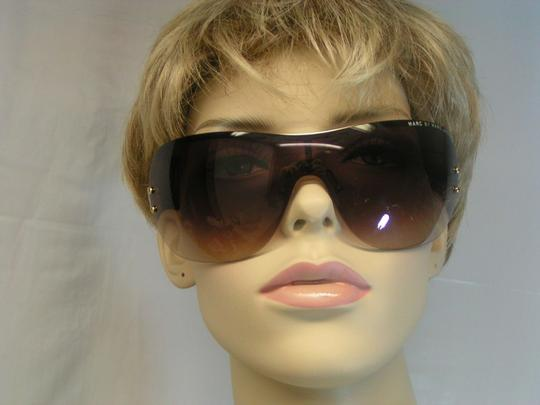 Marc by Marc Jacobs MMJ011/S BROWN FRAMELESS SUB 94 WRAP SUNGLASSES