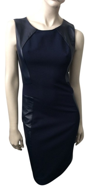 Preload https://item3.tradesy.com/images/halston-navy-leather-trim-heritage-above-knee-workoffice-dress-size-2-xs-3766687-0-0.jpg?width=400&height=650