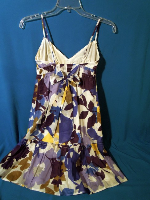 American Eagle Outfitters short dress purple, blue multi Sundress on Tradesy