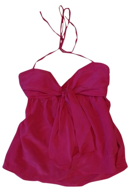 Preload https://item4.tradesy.com/images/french-connection-halter-top-hot-pink-3766768-0-0.jpg?width=400&height=650
