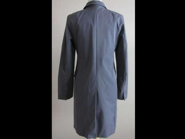 Gap Grey Long Trench Coat