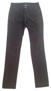 Lands' End Straight Pants Dark Brown