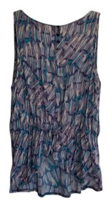 BCBGeneration Top multi colored blue/purple