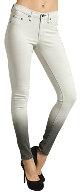 Item - Beige Light Wash Ombre Jeggings Skinny Jeans Size 25 (2, XS)