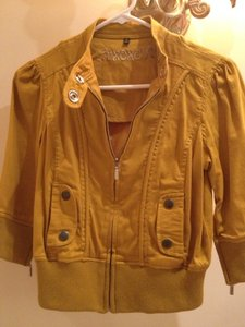 XOXO Mustard Yellow Jacket