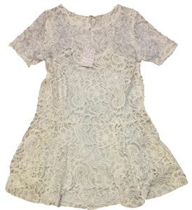 Free People short dress Cream Rehearsal Summer Brand New Wedding on Tradesy