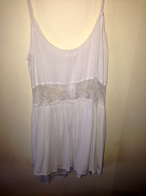 Tobi short dress White Lace Buttons Sundress on Tradesy