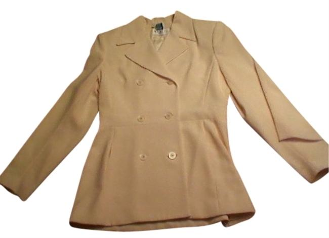 MCNY Skirt, pants & Jacket. Dressy and sophisticated soft yellow suit.