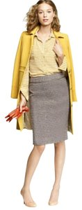 J.Crew Metallic Pencil No. 2 Skirt Boucle