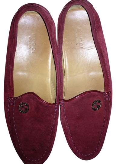 Gucci Red leather Flats