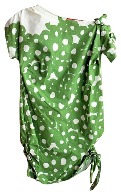Preload https://item1.tradesy.com/images/dazzle-spirea-dress-green-white-3768715-0-0.jpg?width=400&height=650