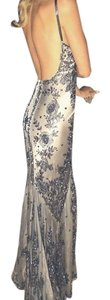 Les Habitudes Hand-beaded Gown Dress