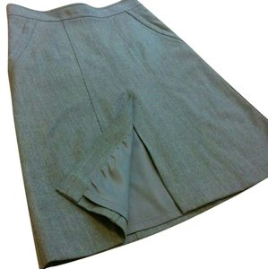 Theory Skirt Heather Grey