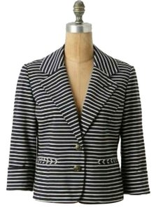Anthropologie Sailor Cartonnier Sailor: Navy/White Blazer