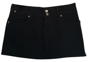 Hudson Jeans Mini Skirt Black