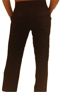 Club Monaco Work Boot Cut Pants Black