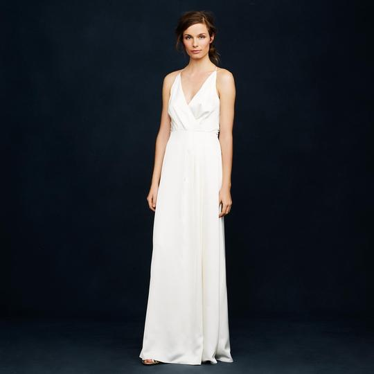 J.Crew Ivory Manuela Destination Wedding Dress Size 4 (S)