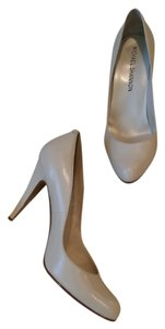 Michael Shannon Pearl White Pumps