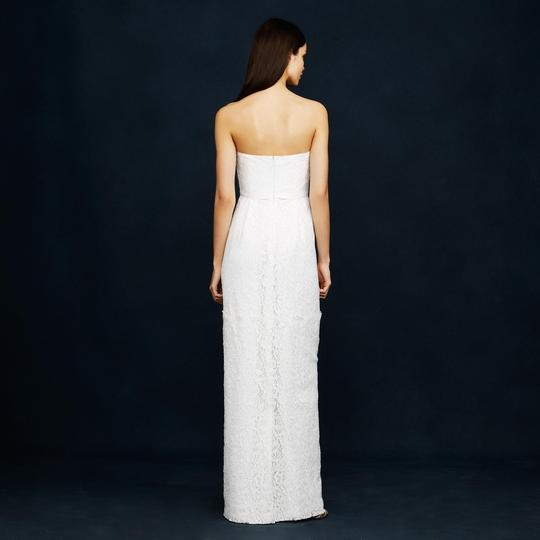 J.Crew Ivory Eyelash Feminine Wedding Dress Size 4 (S)