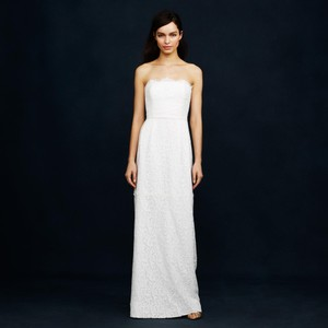 J.Crew Eyelash Lace Gown Wedding Dress