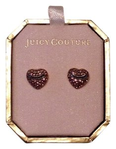 Juicy Couture Juicy Couture Pave Heart Stud Earrings