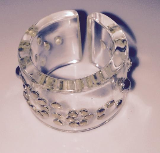 Dior Translucent Dior Ring With Aged Silver
