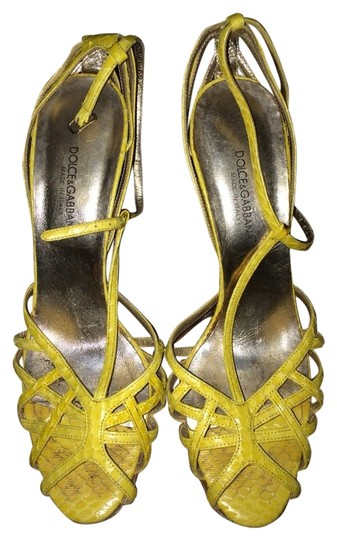Preload https://item5.tradesy.com/images/dolce-and-gabbana-yellow-sandals-3770899-0-0.jpg?width=440&height=440
